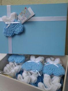 souvenir tejidos a crochet para baby shower Baby Girl Crochet, Crochet Bunny, Crochet Motif, Crochet Patterns, Baby Favors, Baby Shower Favors, Baby Boy Shower, Baby Shawer, Diy Baby