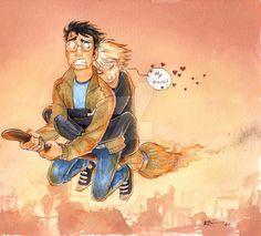 Draco's Hero by CaptBexx.deviantart.com on @DeviantArt