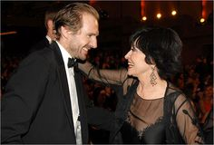 Nominees Ralph Fiennes and Chita Rivera at the 2006 Tony Awards.  Photo: Kevin Mazur/WireImage
