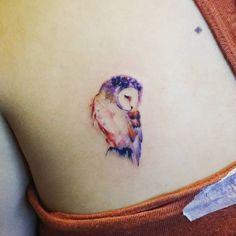 Owl Tattoo by Jay Shin…