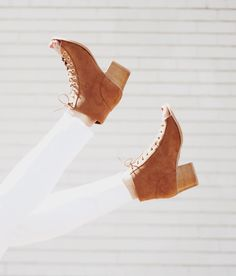 We are loving these shoes! Perfect heel height, perfect color, perfect....you get it, they're great! $32