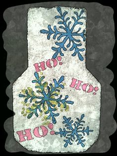 Hand painted paver for me...Lol