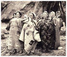 Buceadoras sonrientes, 1953 Yoshiyuki Iwase