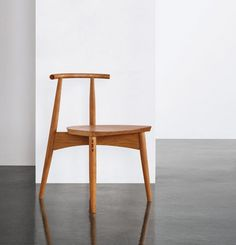 The Portland Chair is the result of a collaboration with designer Ben Klebba. Ben founded and operates Phloem Studio in Portland, Oregon. The chair is name Small Chair For Bedroom, Small Living Room Chairs, Blue Dining Room Chairs, Leather Dining Room Chairs, Leather Chairs, Fur Chairs, Eames Chairs, Beach Chairs, Pink Chairs