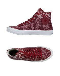 CONVERSE ALL STAR CHUCK TAYLOR II Men's High-tops & sneakers Maroon 8.5 US