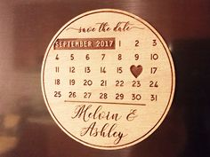 Wooden Save the Date Magnets, Save the Date Magnets, Save the Dates, Wood Magnets, Wooden Save the dates, Wood save the date by esprint09 on Etsy https://www.etsy.com/listing/493958096/wooden-save-the-date-magnets-save-the