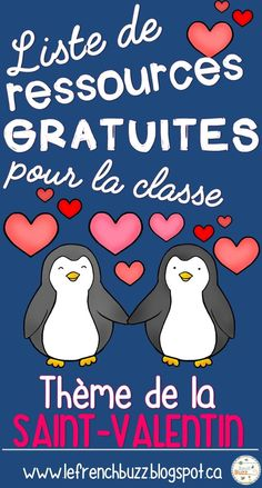 Valentine's Day is considered among my beloved instances to share with my family members and specific good friends French Teaching Resources, Teaching French, Kindergarten Activities, Writing Activities, Teaching Ideas, How To Speak French, Learn French, School Organisation, French For Beginners