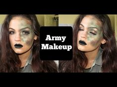Army Girl Makeup | #13DaysofHalloween