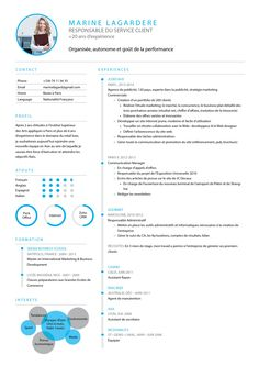 Your resume is one of your best marketing tools. The goal of your resume is to tell your individual story in a compelling way that drives prospective employers to want to meet you. Ux Design, Word Design, Resume Design, Graphic Design, Simple Resume, Modern Resume, Cv Template, Resume Templates, Personal Development