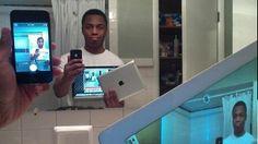 Selfie-Inception: Der Selfie im Selfie im Selfie im Selfie.