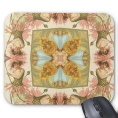 Vintage Flower Fairy Mousepad