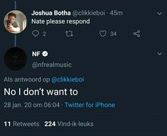 Nf Nate, Nf Quotes, Fun Stuff, Random Stuff, Christian Rappers, Best Rapper Ever, Nf Real Music, American Rappers, Music Memes