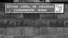 Casa de Bono en Dublin cuando era joven en Cedarwood Road = Bono House in Dublin as a young man in Cedarwood Road