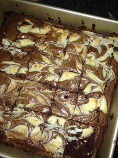 Cheesecream brownie best ever