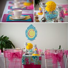 A Precious Tea Party with Tutus and Baby Dolls