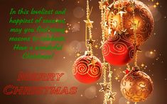 christmas and happy new year wishes message
