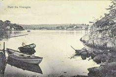 Vestfold fylke Nøtterøy Kommune parti fra Vrængen tidlig 1900-tallet Utg J. M. Johannesen