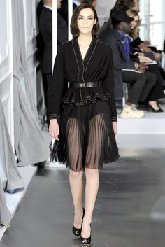 See the complete Christian Dior Spring 2012 Couture collection.