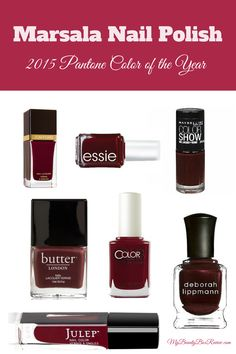 I am so excited about the 2015 Pantone Color of the Year - Marsala. This is a gorgeous wine red that is flattering on almost every skin tone and pairs well with so many other colors. Warm it up or ...