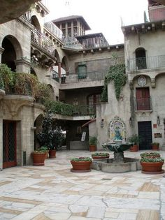 The historic Mission Inn, located in Riverside, California.
