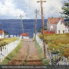 Westport by the Sea, by watercolor artist Joyce Hicks