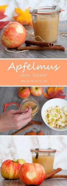 Apfelmus einkochen ohne Zucker Caulking apples for a delicious apple sauce recipe The post Cook the applesauce without sugar appeared first on Leanna Toothaker. Jam Recipes, Fruit Recipes, Sauce Recipes, Cooking Chef Gourmet, Kenwood Cooking, Diy Snacks, Healthy Snacks, Strawberry Jam Recipe, Apple Desserts