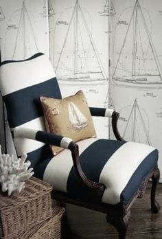"""When you hear the word """"nautical"""", what colors come to mind? Most likely your mind goes straight to navy and white. Conversely, it's vi..."""