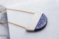 Lua necklace by Peralia Studio