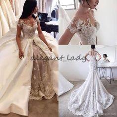 Informal Wedding Dresses, Sexy Wedding Dresses, Bridal Dresses, Wedding Gowns, Wedding Jumpsuit, Mermaid Evening Dresses, Glamour, Marie, Beautiful