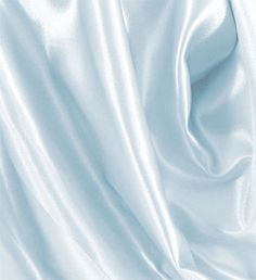 Crepe Back Satin Fabric - #926 Baby Blue | Online Discount Drapery Fabrics and Upholstery Fabric Superstore!