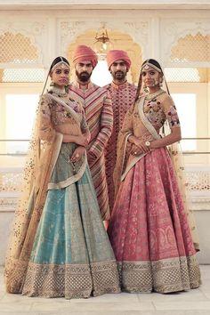 Latest Bridal Lehenga Designs by Sabyasachi - Fashion Foody Indian Bridal Wear, Indian Wedding Outfits, Bridal Outfits, Indian Outfits, Pakistani Bridal, Indian Clothes, Wedding Attire, Wedding Bride, Wedding Dresses