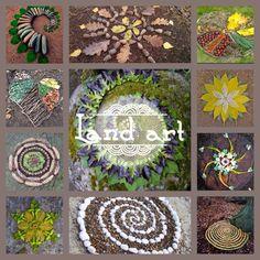 Pinchar para ver engalegoEl Land Art es una corriente de arte contemporánea que utilizalos materiales que se encuentranen la naturaleza en su propio contexto. Las obras quedan en el exterior, ex…