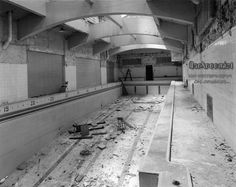 old Cass Tech swimming pool School's Out Forever, Detroit Michigan, Abandoned Places, Time Travel, Swimming Pools, Nature, Gelatin, Park, Tech