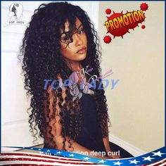 New!top 7a Brazilian Deep Curly Full Lace Wigs Human Hair Wig Virgin Brazilian Deep Wave Lace Front Wig Glueless For Black Women Best Full Lace Wigs Online Glueless Wig From Topladyhouse, $108.85| Dhgate.Com