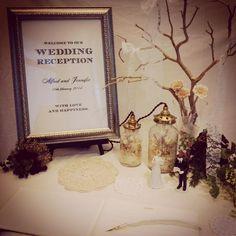 〜Autumn Wedding〜 シンプルなウェルカムボードにケーキトッパードールを添えて カップルに代わってゲストをお出迎え♡ ウェルカムボード ¥32,000+tax ケーキトッパー ¥11,600+tax(ペア) #thesurrey#thesurreywedding#thesurreyparty#結婚式#結婚式準備#ウェルカムボード#ウェルカムスペース#プレ花嫁#ケーキトッパー