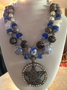 Chunky Cowgirl / Western Necklace by CowgirlInspiration on Etsy, $62.00