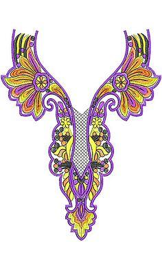 Nightwear Nighty Embroidery Design