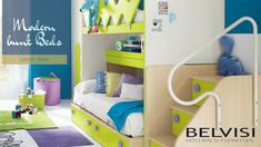 Maximize your floor space and keep up the as well by placing Belvisi Kitchen & offers a huge variety of bunk beds as per your needs. Visit us today. Childrens Bedroom Furniture, Kids Room Furniture, Kitchen Furniture, Kids Bedroom, Funky Bedroom, Modern Bedroom, Modern Bunk Beds, Kids Bunk Beds, Modern Kids