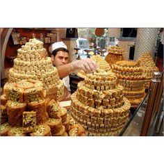 Syrian sweet shop