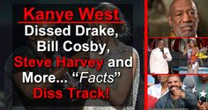Kanye West drops new song on New Years Eve dissing Drake, Steve Harvey and Bill Cosby using Drake and Future's rapping style of his new song Jumpman