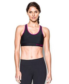 d1b7231d56 Under Armour Womens Mid Sports Bra Black 007 Large     Read more reviews of