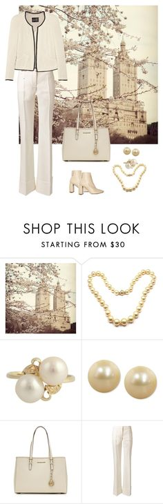 """""""New York Morning"""" by dezaval ❤ liked on Polyvore featuring Mikimoto, Honora, STELLA McCARTNEY, MICHAEL Michael Kors and Isabel Marant"""