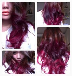 this is what I want my hair to eventually look like!