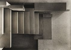 Staircase at Carlo Scarpa's Olivetti showroom