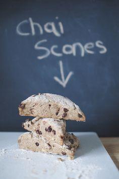 Chai Scones...