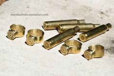 Forged rings of ammunition caliber 30-06 by MoranaDeath on DeviantArt