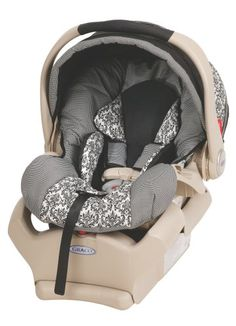 love the print-Graco - SnugRide 35 Infant Car Seat, Rittenhouse Graco Infant Car Seat, Car Seat And Stroller, Baby Car Seats, Baby Car Mirror, Reliable Cars, Baby Wedding, Child Safety, Baby Gear, Baby Love