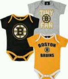 Baby Bruins fan