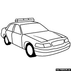 hot police cars coloring pages | kids swat police coloring pages | coloring Pages ...