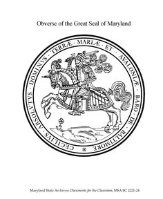 Thumbnail image of Oklahoma State Seal Coloring Page